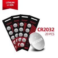 Bevigor CR2032 3V Lithium Coin Battery - Long Lasting Battery - 20 Count