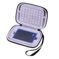 LTGEM EVA Hard Case for WD 500GB & 1TB My Passport Go SSD Cobalt Portable External Storage - Travel Protective Carrying Storage Bag