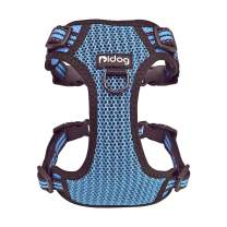 Didog No Pull Dog Vest Harness,Step-in Dog Harness with Soft Breathable Air Mesh,Reflective Escape Proof Harness for Walking Small Medium Dogs