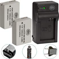 BM Premium 2 Pack of NB-10L Battery and Charger Kit for Canon PowerShot G15, G16, G1X, G3X, SX40 HS, SX40HS, SX50 HS, SX60 HS Digital Camera