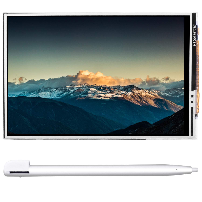 kuman Raspberry Pi Screen 3.5 Inch TFT LCD Display with Touch Screen, Touch Pen for Raspberry Pi 3B+/ Pi 2B, Pi Zero W, Pi A/B