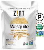 Zint Organic Mesquite Powder: Raw, Paleo Certified, Non GMO, Vegan Protein Superfood - Mesquite Beans and Pods - Delicious Gluten Free Flour Substitute (8 oz)