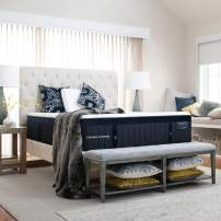 Stearns & Foster Lux Estate Hybrid, 15-Inch Luxury Plush Mattress and 9-Inch Foundation, California King, Hand Built in The USA