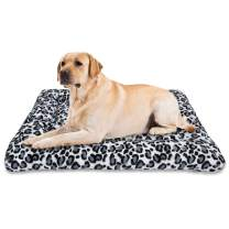 MIXJOY Dog Bed Crate Mat 30''/36''/40'' Washable Anti-Slip Kennel Pad for Large Medium Small Dogs and Cats