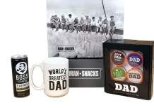 ManSnacks - WORLD'S GREATEST DAD Coffee Gift With 15 Ounce Manly Coffee Mug and His Very Own K-Cups, A Perfect Gift For His Birthday Or Father's Day
