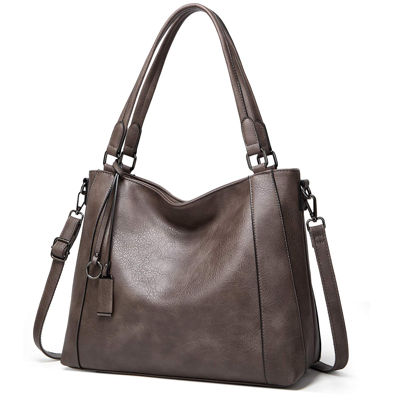 Hobo Bag for Women,VONXURY Faux Leather Purse and Handbag Ladies Shoulder Bag with Detachable Strap