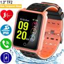 """1.3"""" TF2 Smart Watch for Women Mother Day Gifts Fitness Watches for Mom Smartwatches Activity Tracker Ip68 Waterproof Blood Pressure HR Monitor Pedometer Color Screen Sport Watch for Android iOS"""