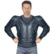 Viking Cycle Motorcycle Jacket with safety armor for Men (X-Large)