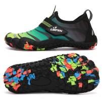 UBFEN Water Shoes for Kids Boys Girls Aqua Socks Barefoot Beach Sports Swim Pool Quick Dry Lightweight Toddler Little Big Kid