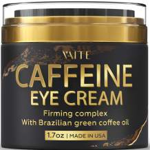 Caffeine Eye Cream - Anti-Aging & Wrinkle Fighting Skin Treatment - Reduces Puffiness & Dark Circle - Eye Lift Cream - Natural Skincare & Toxin Free - Made in USA