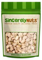Sincerely Nuts Large Pistachios Roasted & Unsalted in Shell - 5 Lbs. Bag | Healthy Snack Food | Great for Cooking | Source of Fiber, Protein, Vitamins & Minerals | Gourmet | Kosher & Gluten Free