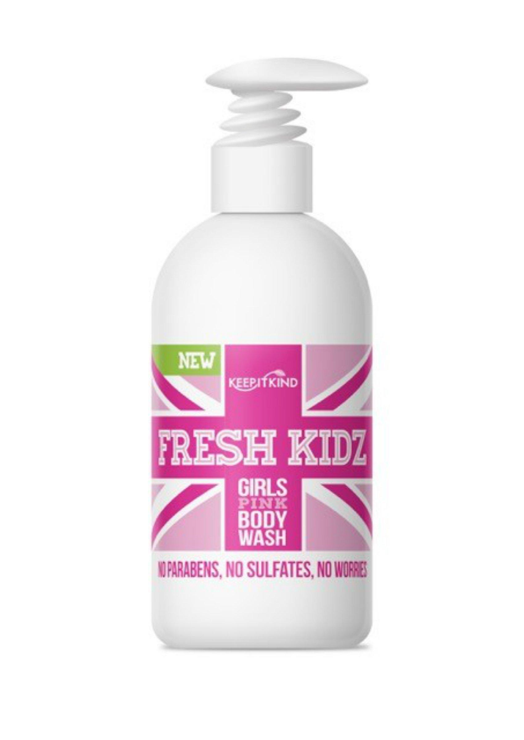 "Keep It Kind Fresh Kidz Natural Body Wash - Girls""Pink"", 16.9 fl.oz."