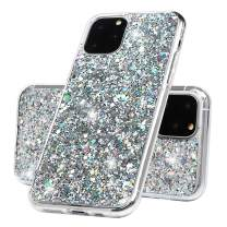 iPhone 11 Pro Max Glitter Case,ZSTVIVA Super Shiny 11 Pro Max Glossy Glitter Bling Case with Premium Flexible Shockproof TPU Gel Bumper Cover Case for iPhone 11 Pro Max 6.5 Inch