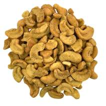 Needzo Fresh Jalapeno Split Cashews, Individual Snack Mix Variety Packs for Adults and Kids, 6 Bags, 6 Ounces Each