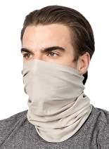 Seamless Rave Bandana Neck Gaiters Women Men for Dust Wind Sun Protection