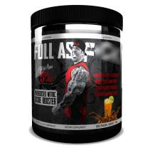 Rich Piana 5% Nutrition FAF Overdosed Nitric Oxide Boosting, Non-Stim, Pre-Workout Powder   Massive Pumps, Strength Gains & Endurance   Aminos, L-Citrulline, Agmatine   12.9 oz (Southern Sweet Tea)