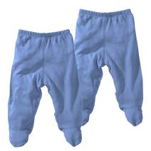 Babysoy Comfy Basic Footie Pants Unisex 2 Packs
