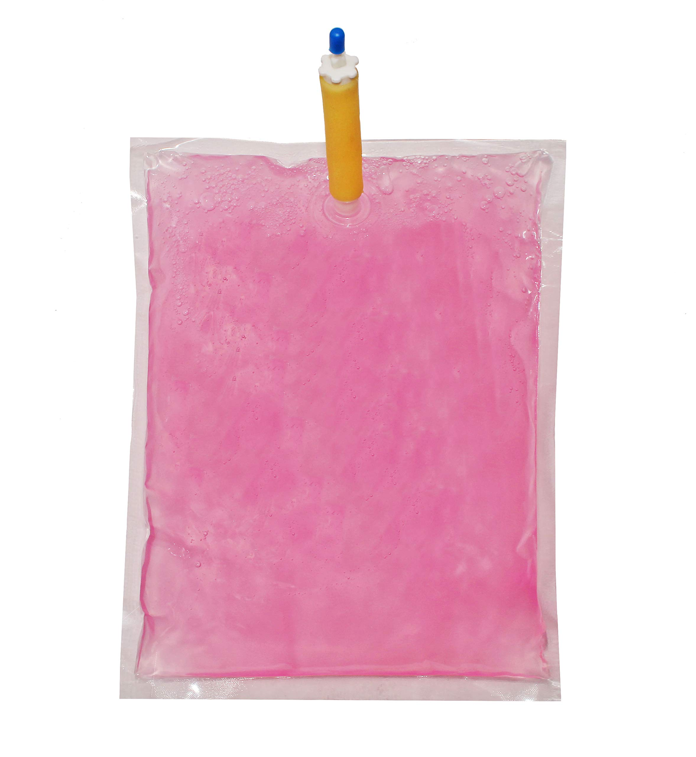 LifeSupplyUSA Case of 12 Pink Pearlized Liquid Lotion Hand Wash Soap 800-ml Dispenser Refill Pouch Bags