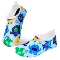 IceUnicorn Water Socks for Toddler Kids Beach Swim Socks Boys Girls Non Slip Aqua Socks