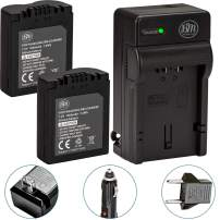 BM Premium Pack of 2 CGA-S006 Batteries and Battery Charger for Panasonic Lumix DMC-FZ7, DMC-FZ8, DMC-FZ18, DMC-FZ28, DMC-FZ30, DMC-FZ35, DMC-FZ38, DMC-FZ50 Digital Camera