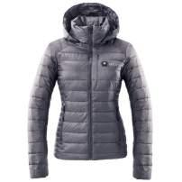 Kelvin Coats Heated Jacket for Women | Incredibly Warm Puffer Coat with Hood