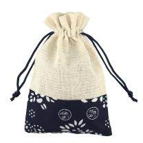 SumDirect 20pcs 4 X 6 Inch Burlap Bags with Drawstring,Cotton Jewelry Gift Favor Pouches for Wedding Party DIY Craft Christmas