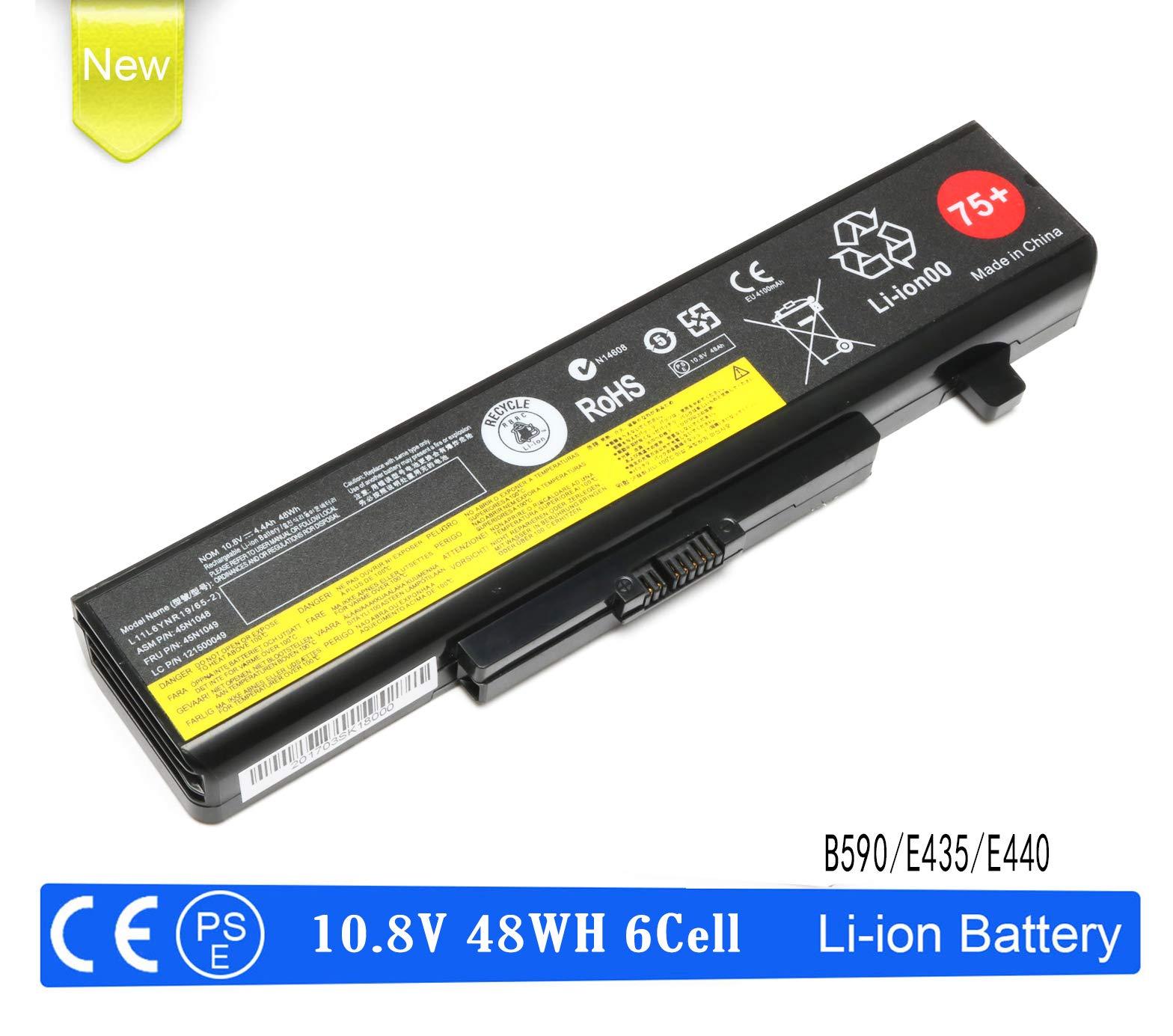 B590 E530 E540 Laptop Battery Replacement for 0A36311 Lenovo ThinkPad E430 E431 E435 E440 E445 E531 E535 E545; P/N: 45N1048 45N1049 45N1043 45N1042