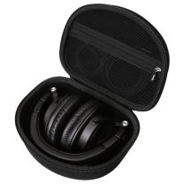 Hard Carry Travel Bag Case Compatible with Audio-Technica ATH-M50x Professional Monitor Headphones ATH-M50xMG ATH-M40x ATH-M30x ATH-M70x by Aproca (Black)