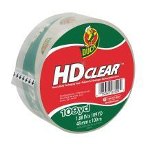 Duck HD Clear Heavy Duty Packing Tape Refill, 1.88 Inch x 109 Yard, 1 Roll (1017704)