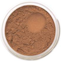 Bella Terra Mineral Powder Foundation   Long-Lasting All-Day Wear   Buildable Sheer to Full Coverage – Matte   Sensitive Skin Approved   Natural SPF 15 (Cinnamon) 9 grams
