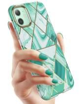 "i-Blason Cosmo Lite Series Case for iPhone 11 (2019), Premium Hybrid Slim Protective Bumper Case with Camera Protection, Prasio, 6.1"""