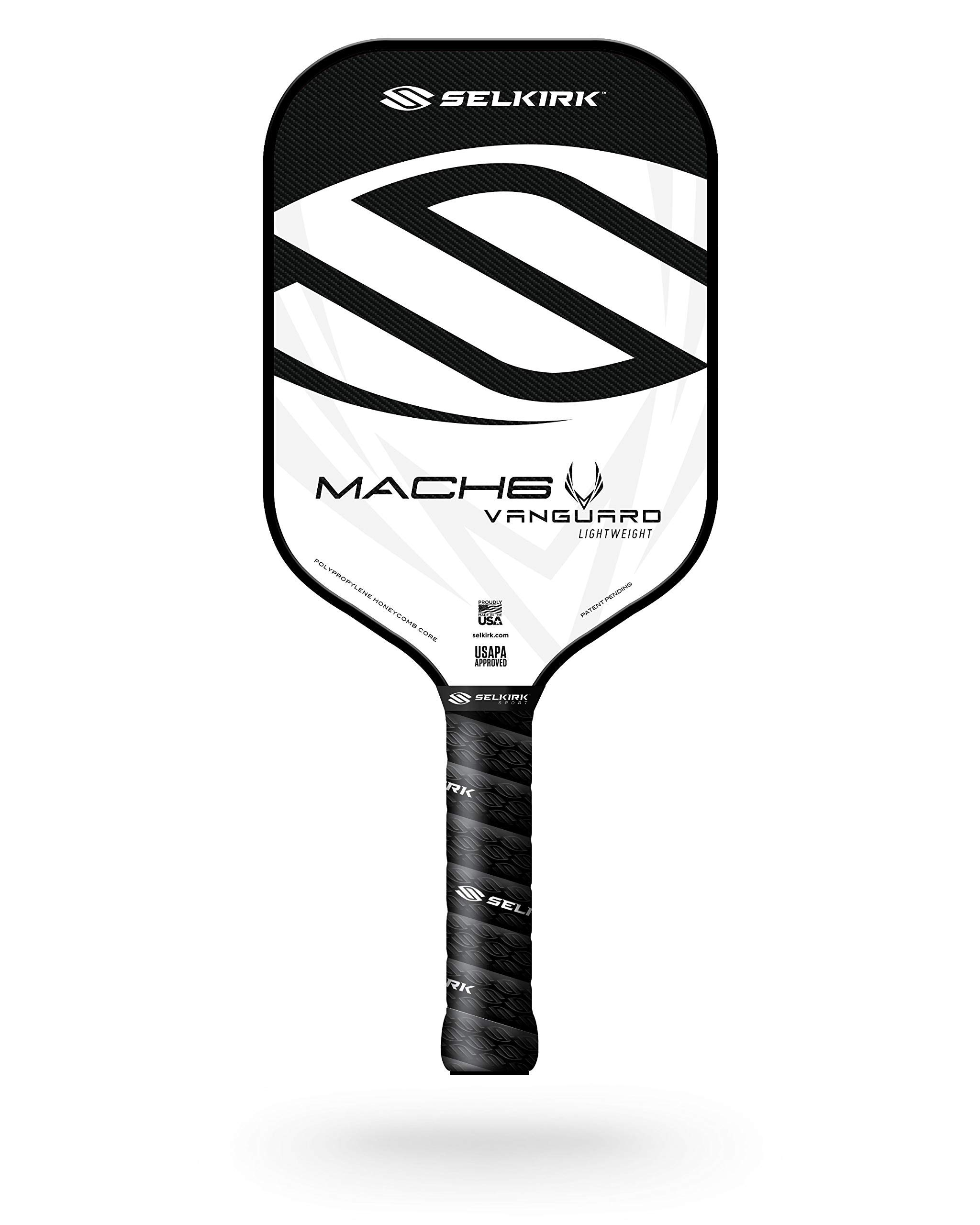Selkirk Vanguard Hybrid Pickleball Paddle   Carbon Fiber Pickleball Paddle with a Polypropylene X5 Core   Pickleball Rackets Made in The USA  