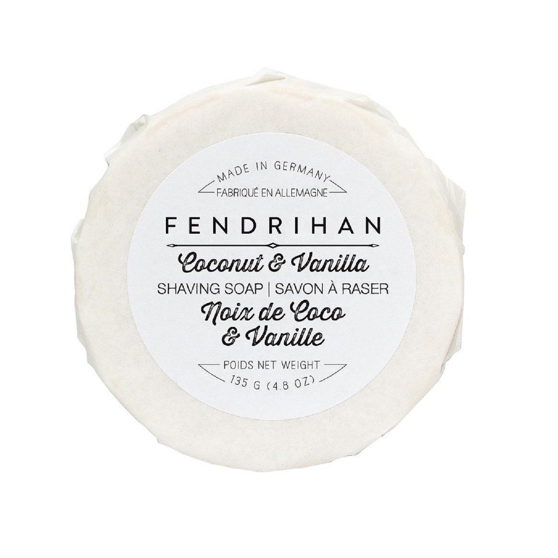 Fendrihan Shaving Soap for Men MADE IN GERMANY (Coconut & Vanilla, 135 grams)
