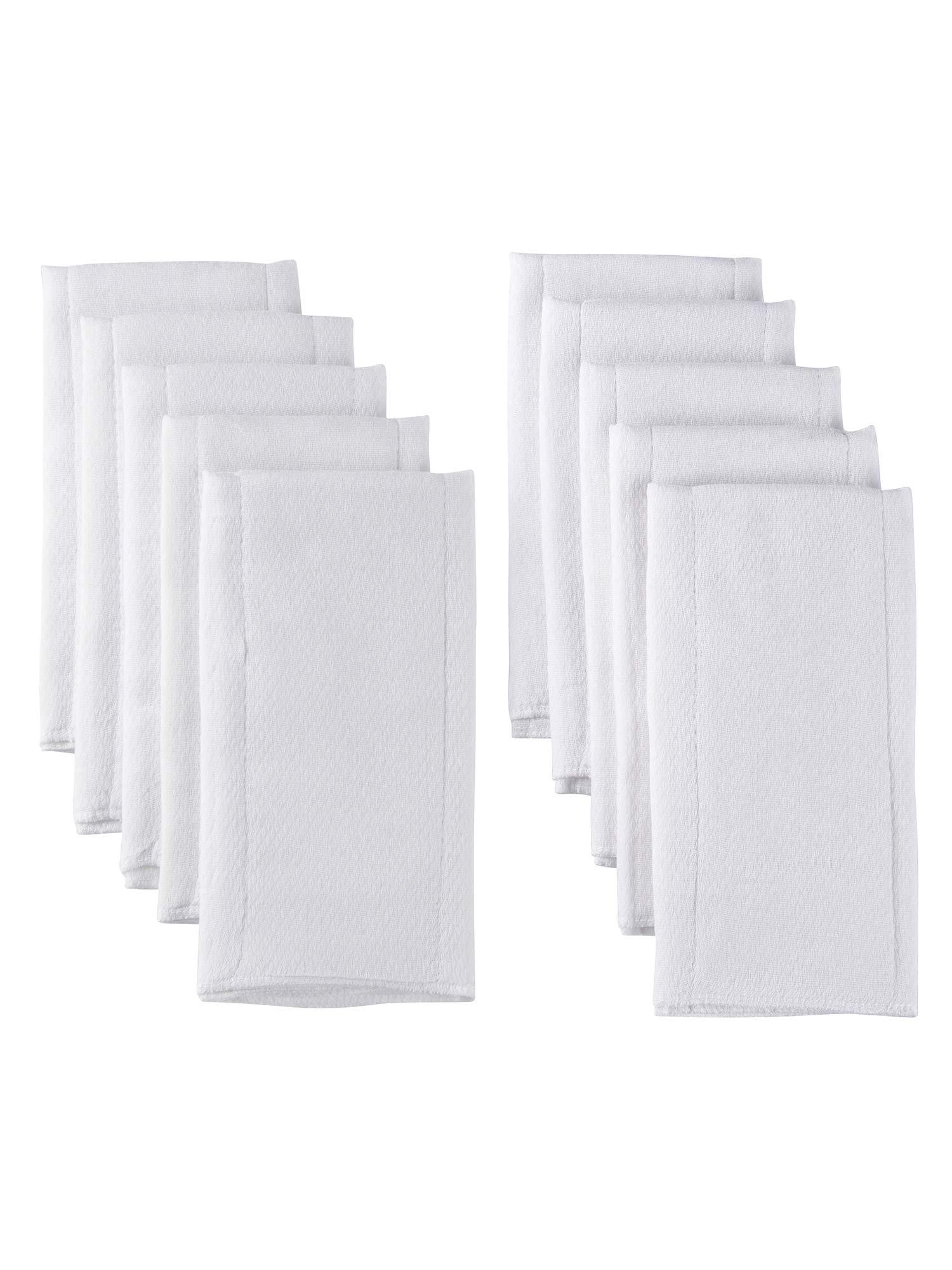 Gerber 10 Pack Organic Flatfold Birdseye Diaper