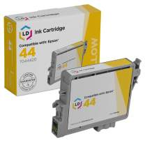 LD Remanufactured Ink Cartridge Replacement for Epson 44 T044420 (Yellow)