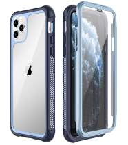 SPIDERCASE iPhone 11 Pro Max Case, Built-in Screen Protector Full Heavy Duty Protection Shockproof Anti-Scratched Rugged Case for iPhone 11 Pro Max 6.5
