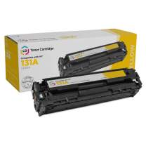LD Remanufactured Toner Cartridge Replacement for HP 131A CF212A (Yellow)