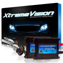 XtremeVision DC 35W Xenon HID Lights with Premium Slim Ballast - 9004 12000K - 12K Purple - 2 Year Warranty