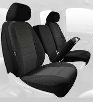 Fia OE38-30 CHARC Custom Fit Front Seat Cover Split Seat 40/20/40 - Tweed, (Charcoal)