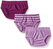 Hanes Ultimate Baby Flexy 3 Pack Diaper Covers, Purple, 12-18 Months