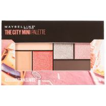Maybelline New York Makeup The City Mini Eyeshadow Palette, Downtown Sunrise Eyeshadow, 0.14 oz