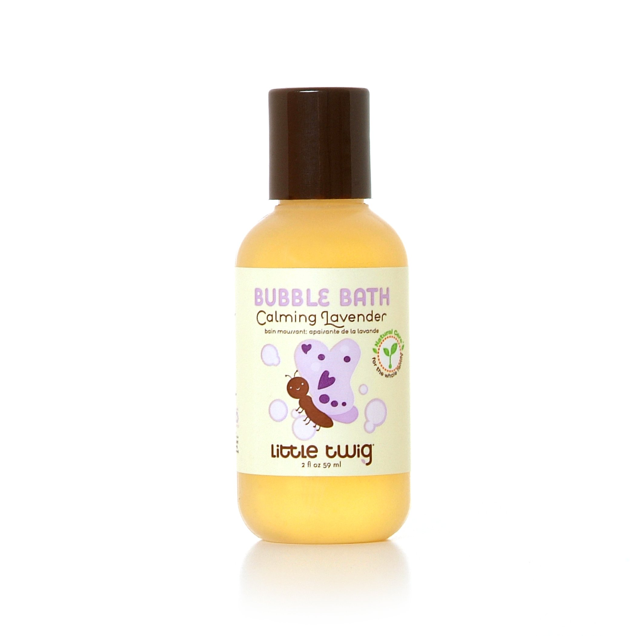 Little Twig All Natural, Hypoallergenic Baby Bubble Bath, Calming Lavender Scent, 2 Ounce Bottle