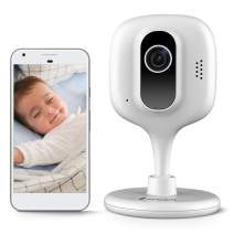 Zencam WiFi Camera, Indoor Wireless Security Camera IP, Two-Way Talk, Night Vision for Home, Office, Baby Monitor, Pet Cam with MicroSD & Cloud Storage, White (E1W-V2) (Updated Firmware, 2020)