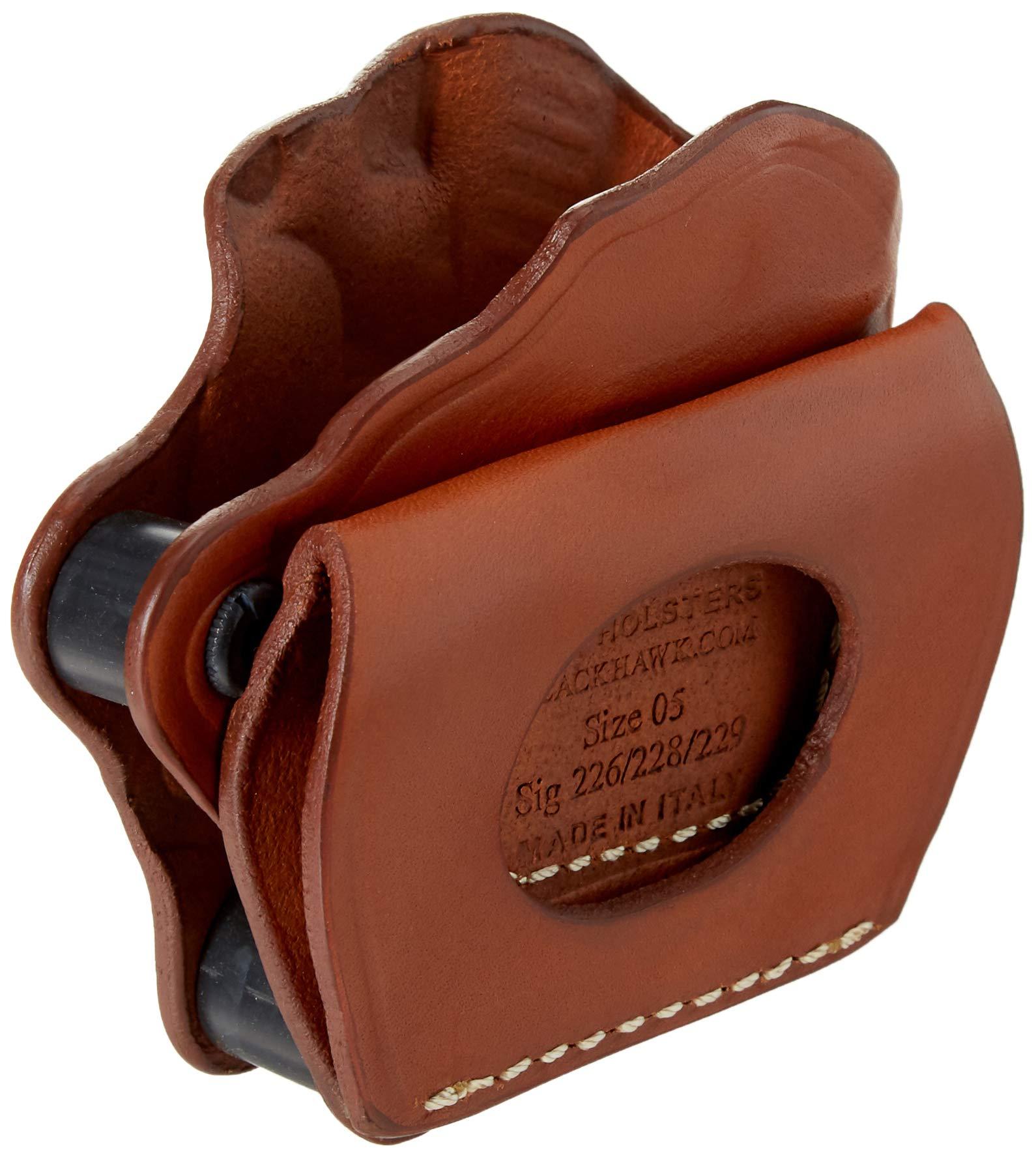 BLACKHAWK Leather Yaqui Slide Holster