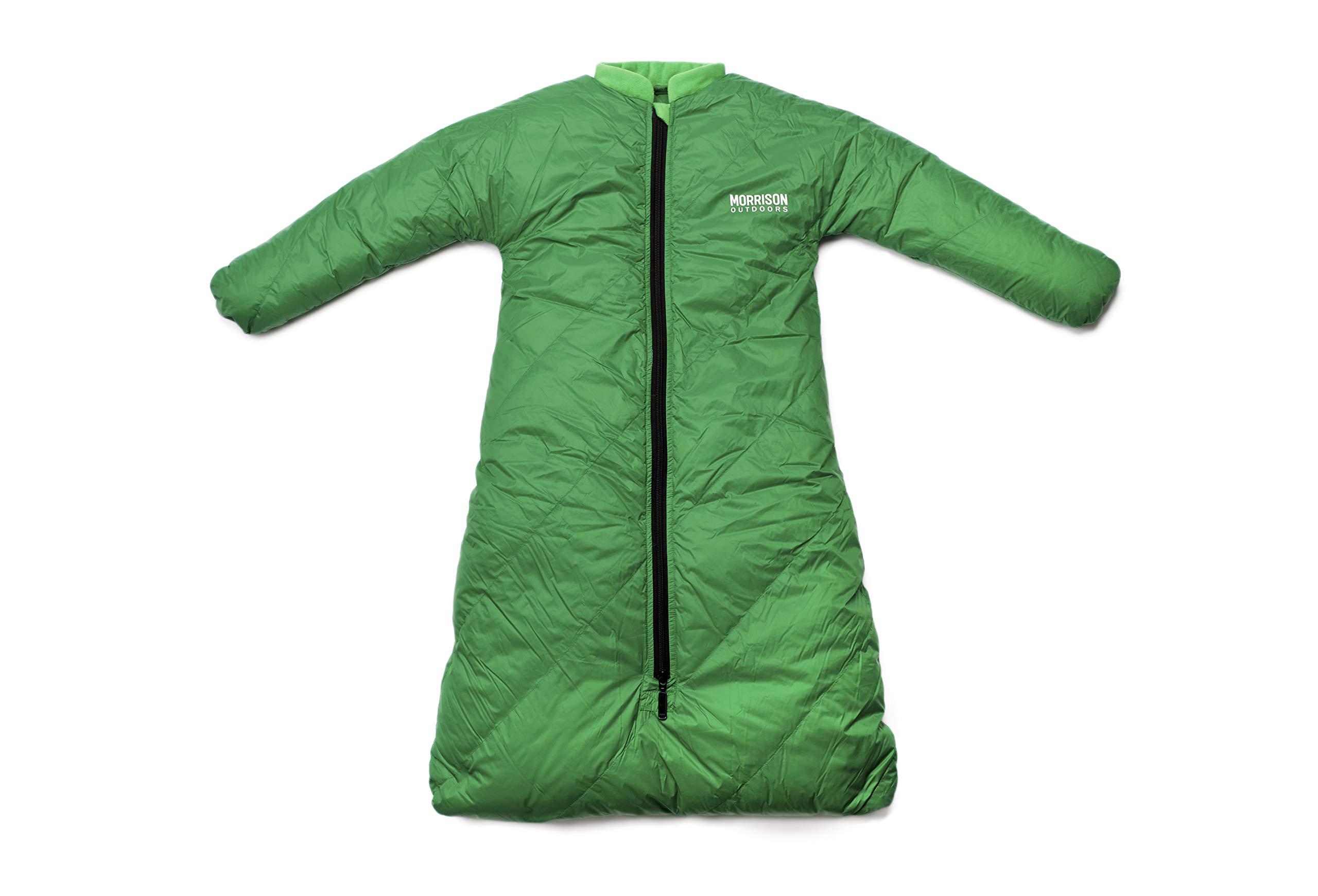 Morrison Outdoors Little Mo 20 Down Baby Sleeping Bag (Moss Green)