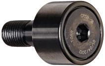 "Koyo CRSB-16 Track Roller, Standard Stud, Sealed/Hex Hole, Inch, Steel, 1"" Roller Diameter, 0.625"" Roller Width, 1"" Stud Length, 7/16"" Thread Size, 1-21/32"" Overall Length, 0.438"" Stud Diameter"