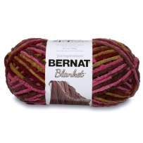 Bernat Plum Chutney Blanket Big Ball Yarn (10302)