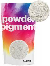 Hemway Pigment Powder Colour Luxury Ultra-Sparkle Dye Metallic Pigments for Epoxy Resin, Polyurethane Paint (Metallic Chalk White, 50g / 1.75oz)