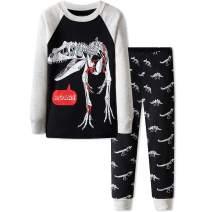 DAUGHTER QUEEN Baby 18M-12Y Toddler Kids Boys 100% Cotton Pajamas Sleepwear Sets