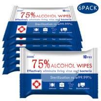 Wet Wipes, 6 Pack Travel Size Wipes Bulk